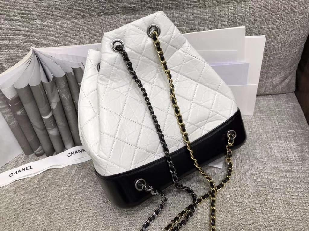 Chanel 香奈儿 2018 新款 流浪背包 菱格款 进口羊皮