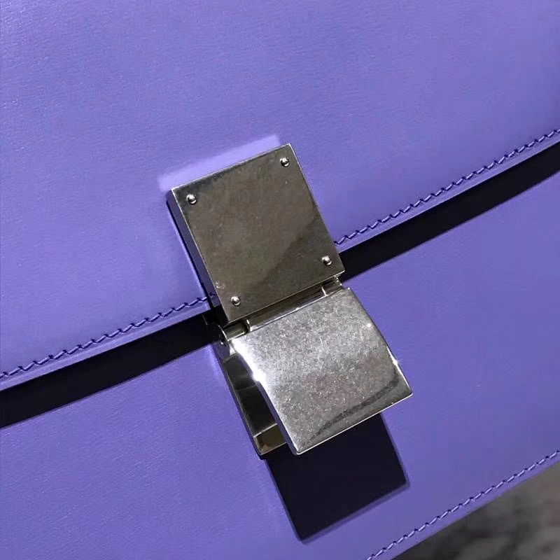 CelineClassicBox 一见倾心的包包 复古 仙女紫 银扣
