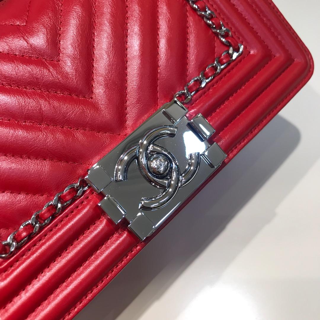 Leboy 顶级代购版本 20cm 原厂树膏皮 大红色 银扣 只有少量现货