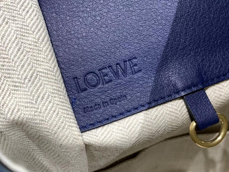 Loewe hammock 吊床包 新色 蓝拼 六种背法