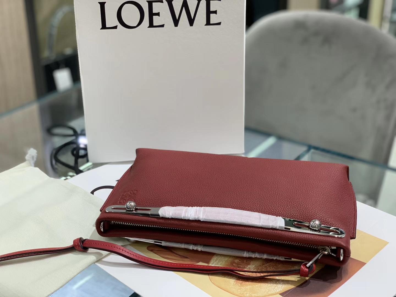 Loewe 罗意威 新款手柄 酒红 官网同步 原厂皮料五金制定