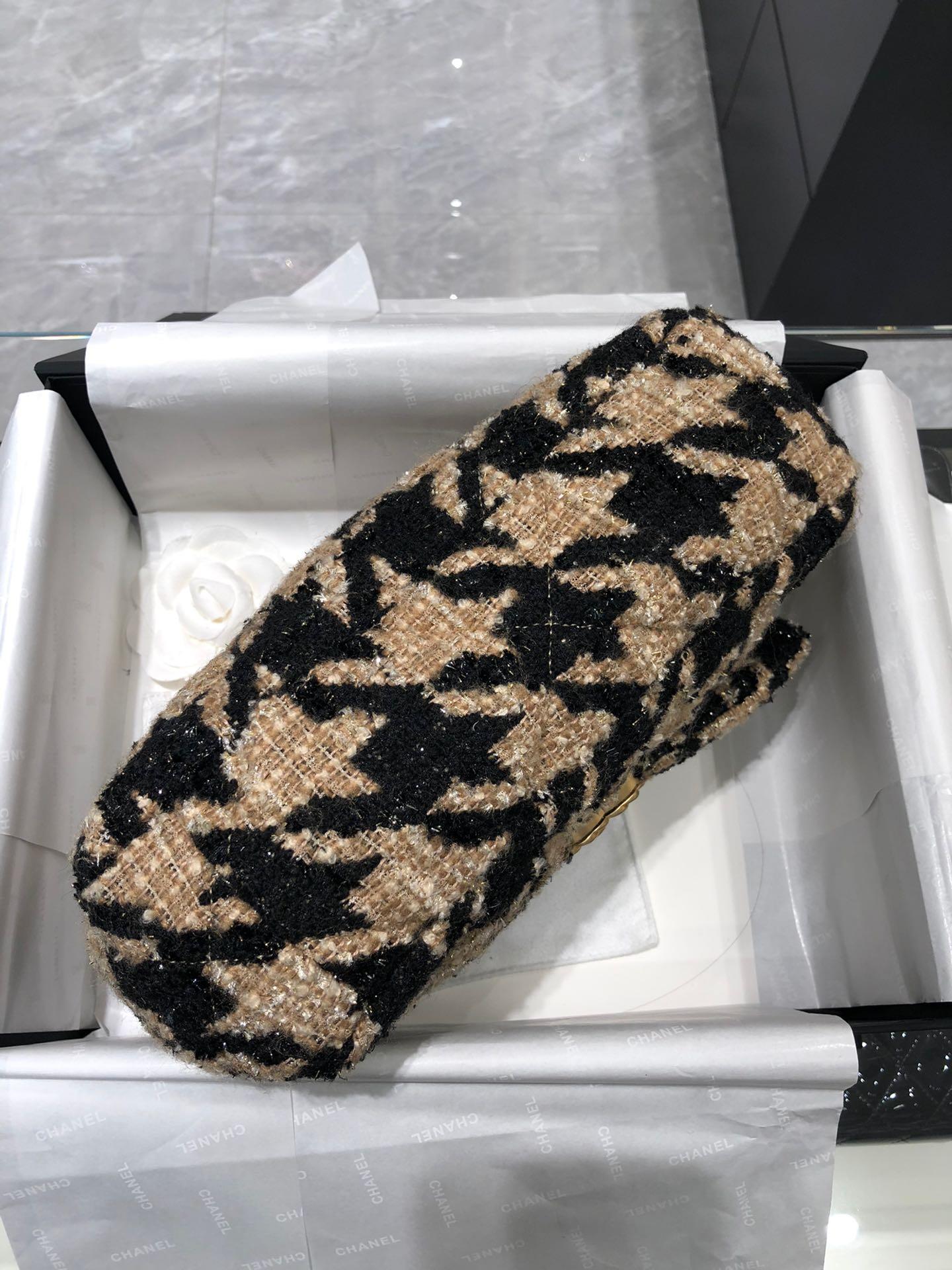 【正品级】 Chanel2019秋冬 千鸟格系列 16*26*9cm 全套包装