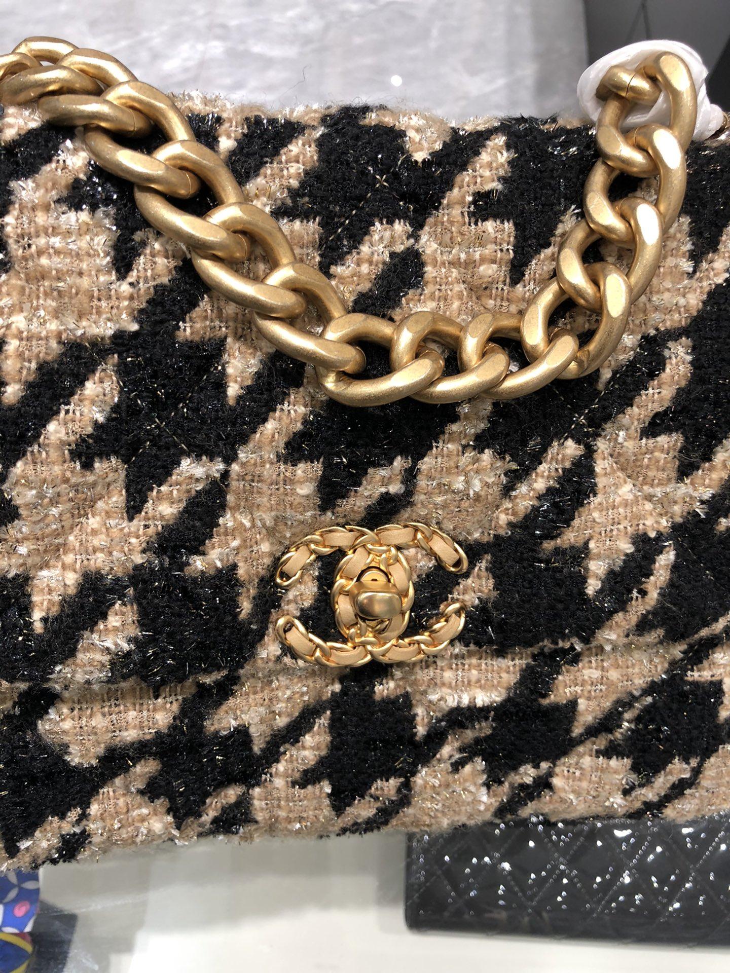【正品级】 Chanel 2019 秋冬千鸟格系列  20:30:10 全套包装